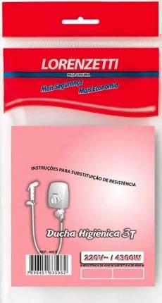 resistencia lorenzetti ducha higienica 03t 4300w 220v 400e