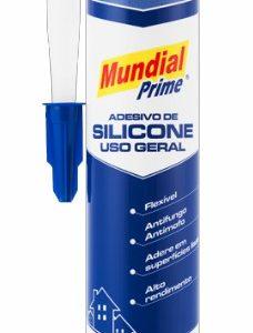 silicone acetico uso geral incolor 260g mundial prime