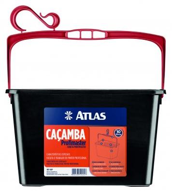 bandeja atlas p. pintura cacamba profimaster cubeta 10l 610p