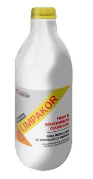 limpador para pisos e revestimento limpakor inkor 1l