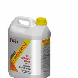 limpador para pisos e revestimentos limpakor inkor 5l