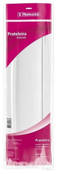 prateleira primafer 50cm branca 1010 2