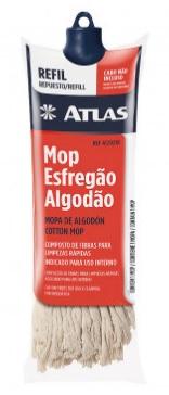 refil mop esfregao algodao p. limpeza s. cabo atlas at2023r