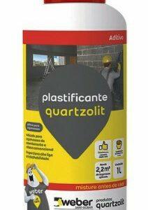 aditivo plastificante quartzolit 1l 32