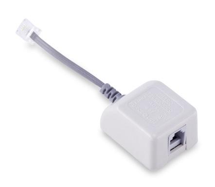 filtro adsl forceline p. telefone banda larga 497