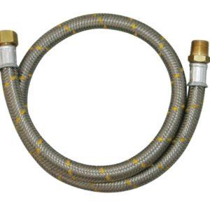 ligacao flexivel p. gas 1.50m inox 1 2 2544 jackwal