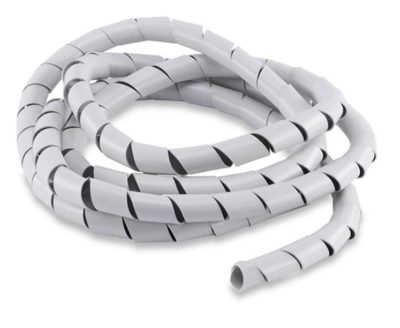 organizador espiral de fios e cabos eletricos forceline 20mm x 3.0m br