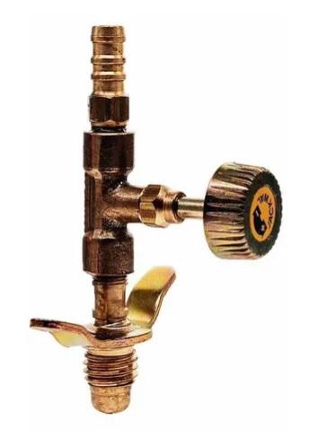 torneira latao gas niple borbol. 5 8 unc x p. mang. 5 16 1111 002252 jackwal